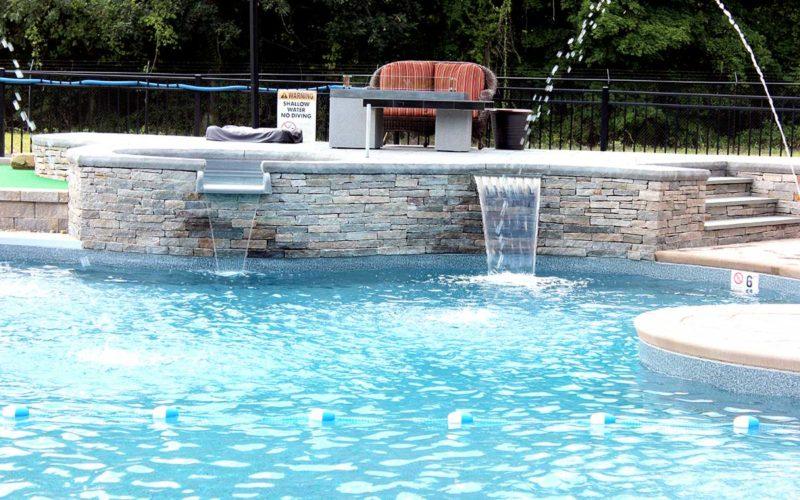 10A Custom Inground Inground Pool - Hebron, CT