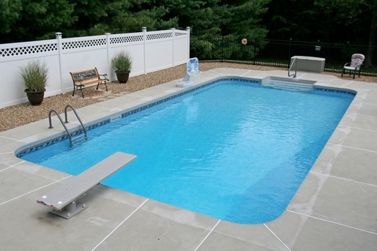 10A Rectangle Inground Pool