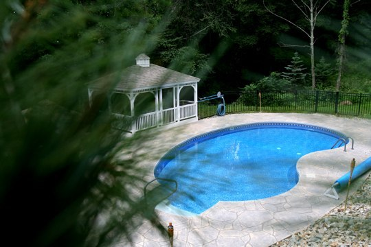 10D Kidney Inground Pool -Somers, CT