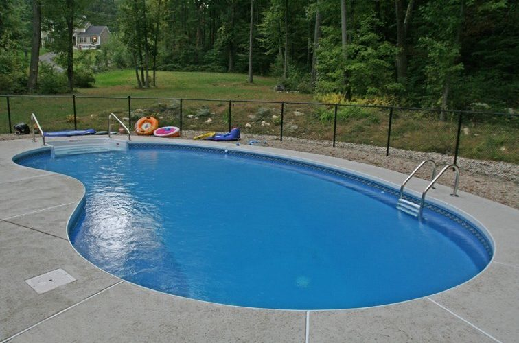 11A Kidney Inground Pool -Northampton, MA