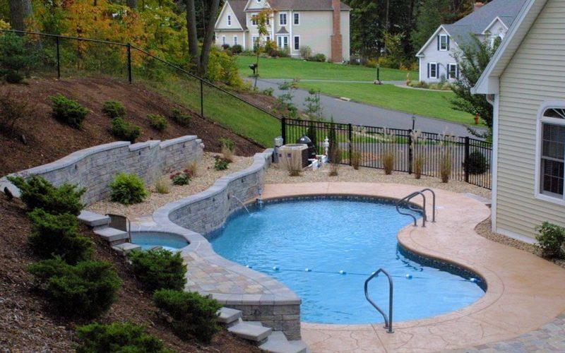 11B Custom Inground Inground Pool - Hebron, CT