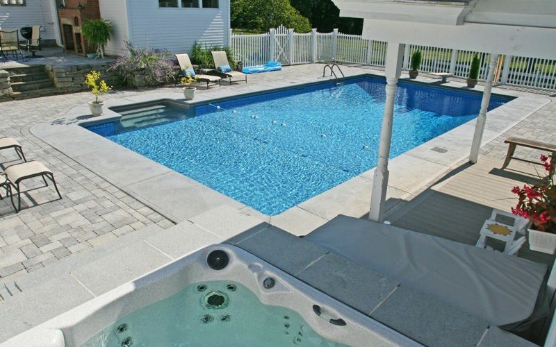 11D Rectangle Inground Pool