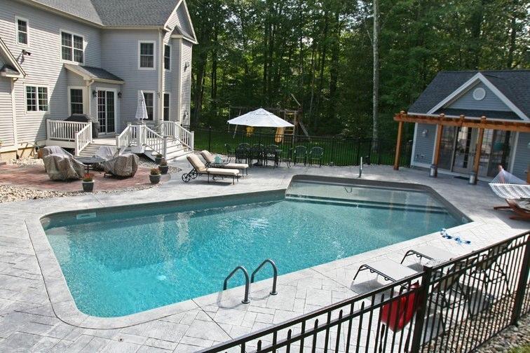 12B Custom Inground Inground Pool - Canton, CT