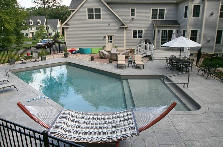 12C Custom Inground Inground Pool - Canton, CT