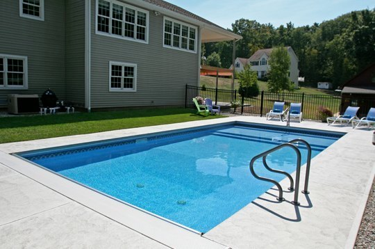 12D Rectangle Inground Pool