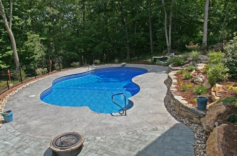 13A Custom Inground Inground Pool - Tolland, CT