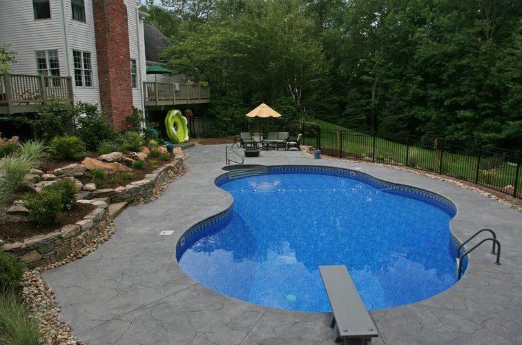 13B Custom Inground Inground Pool - Tolland, CT