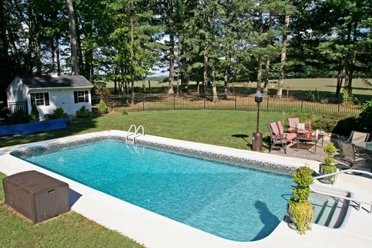 13B Rectangle Inground Pool
