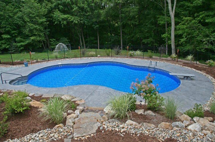 13D Custom Inground Inground Pool - Tolland, CT