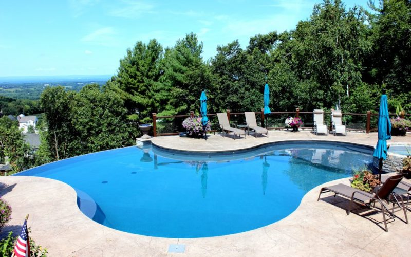 14B Custom Inground Inground Pool - Ellington, CT