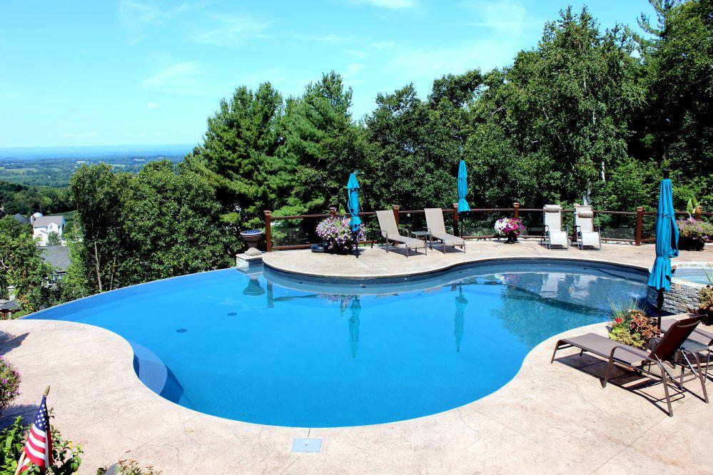 14B Custom Inground Inground Pool - Ellington, CT