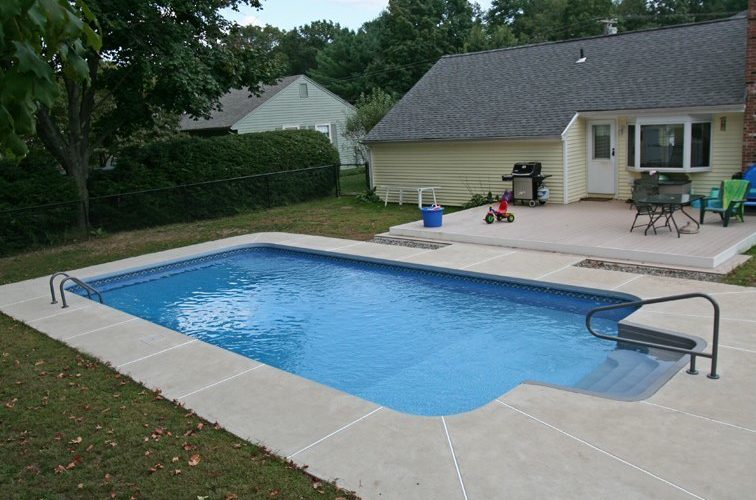 14B Rectangle Inground Pool
