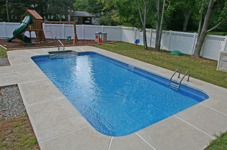 14D Rectangle Inground Pool