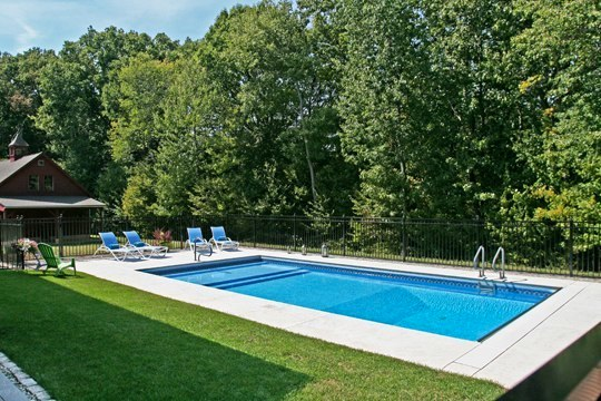 15A Custom Inground Inground Pool - Manchester, CT