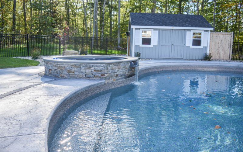 15D Mountain Pond Inground Pool - Tolland, CT