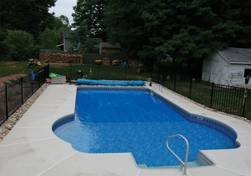 16C Custom Inground Inground Pool - Tolland, CT