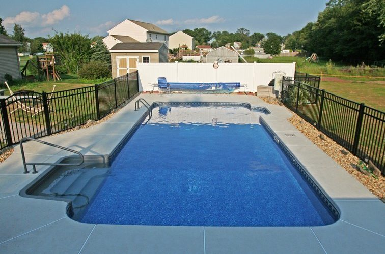17B Rectangle Inground Pool