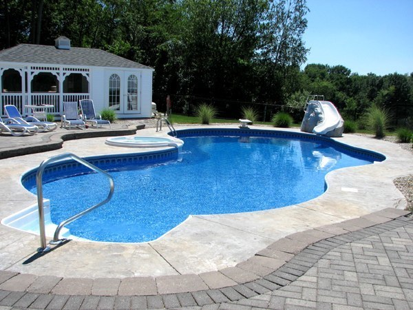 17C Custom Inground Inground Pool - Ellington, CT