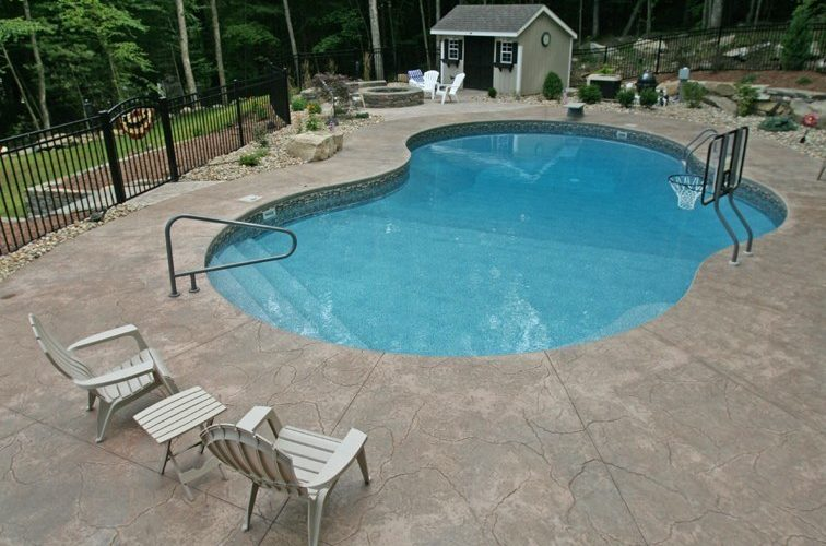 18A Custom Inground Inground Pool - Tolland, CT