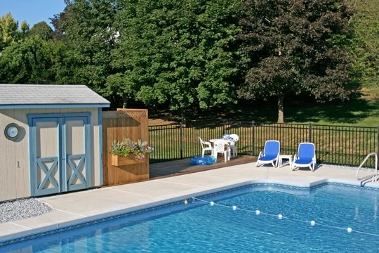 18D Rectangle Inground Pool