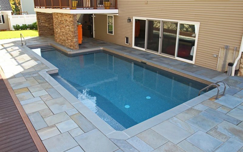 19A Custom Inground Inground Pool - Ashland, CT