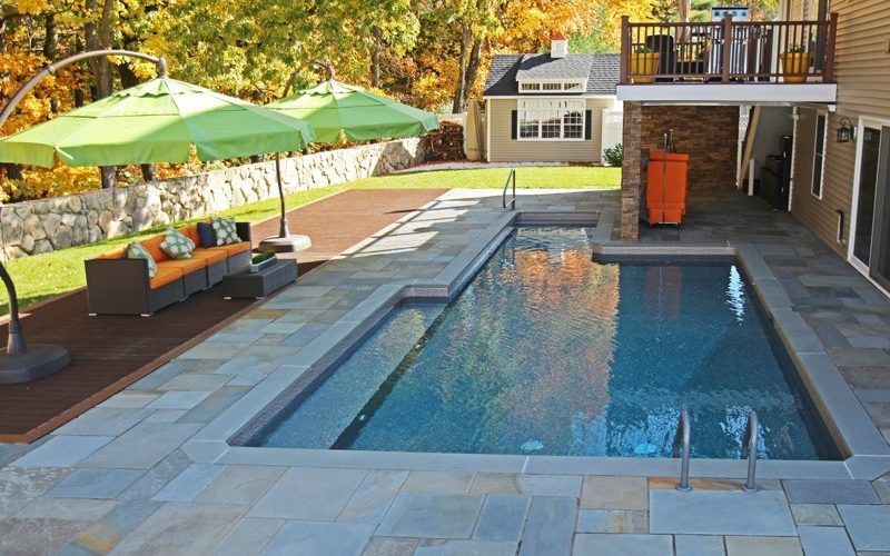 19B Custom Inground Inground Pool - Ashland, CT