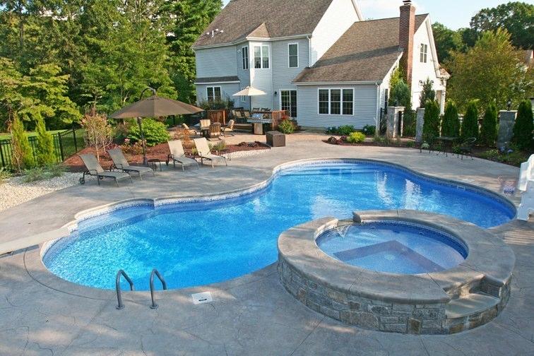 19C Lagoon Inground Pool - Southington, CT