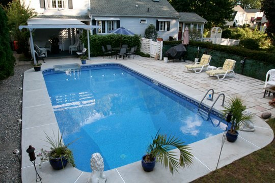 19D Rectangle Inground Pool