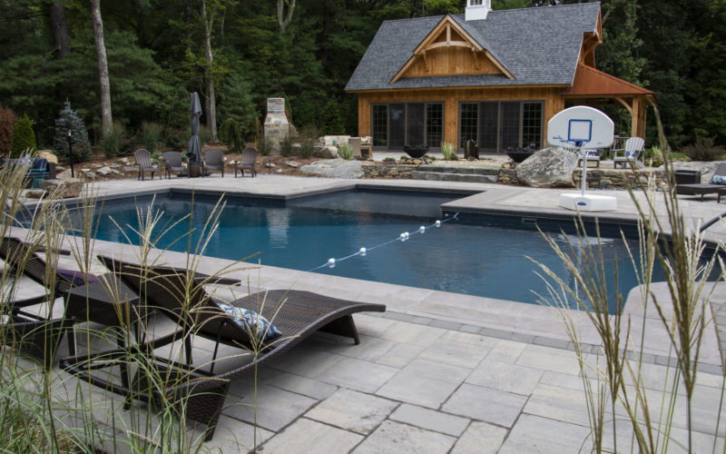 1B Custom Inground Pool - Tolland CT
