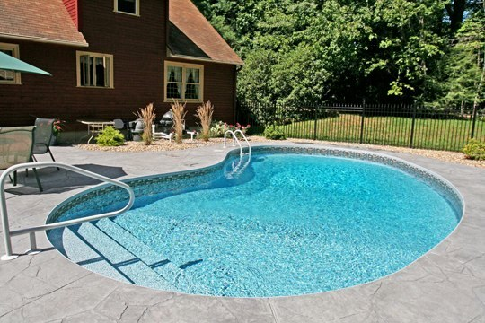 1B Kidney Inground Pool - Stafford, CT