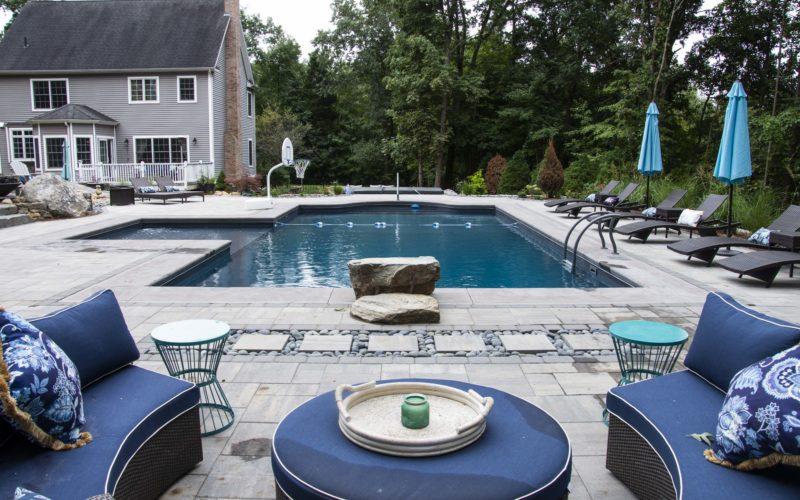 1C Custom Inground Pool - Tolland CT
