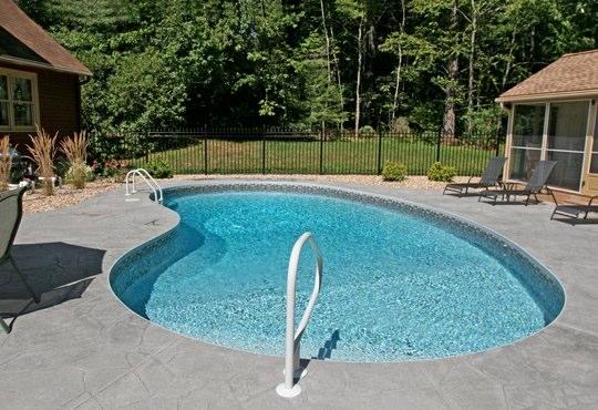 1C Kidney Inground Pool - Stafford, CT