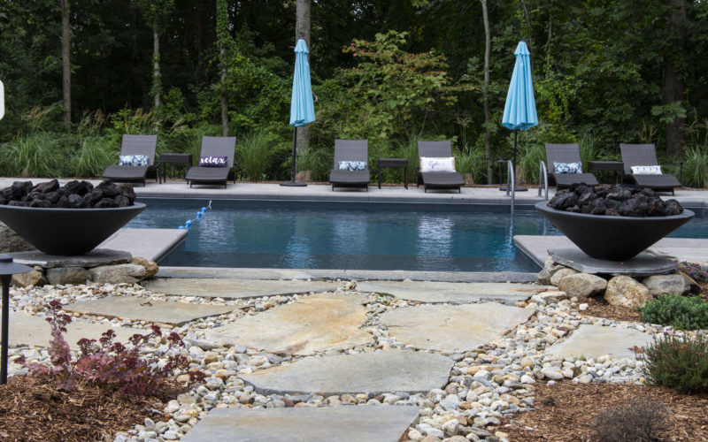 1D Custom Inground Pool - Tolland CT