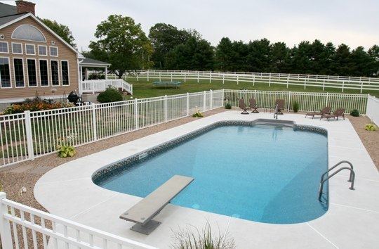 20A Rectangle Inground Pool