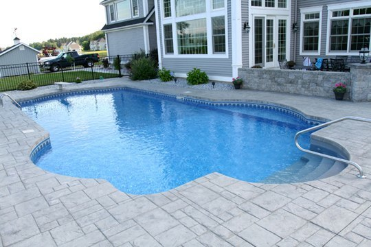 22A Custom Inground Inground Pool - Somers, CT