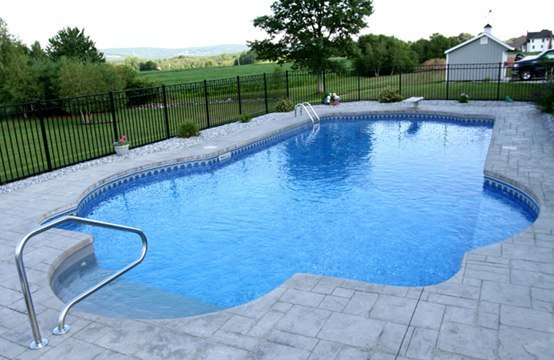 22C Custom Inground Inground Pool - Somers, CT