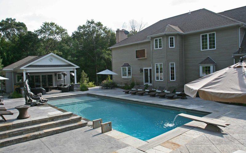 23B Custom Inground Inground Pool - Wolcott, CT