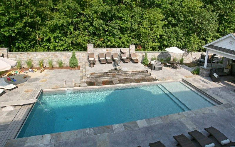 23D Custom Inground Inground Pool - Wolcott, CT