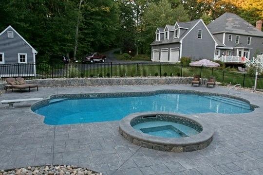24B Custom Inground Inground Pool - Hebron, CT
