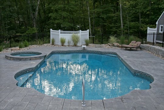 24C Custom Inground Inground Pool - Hebron, CT