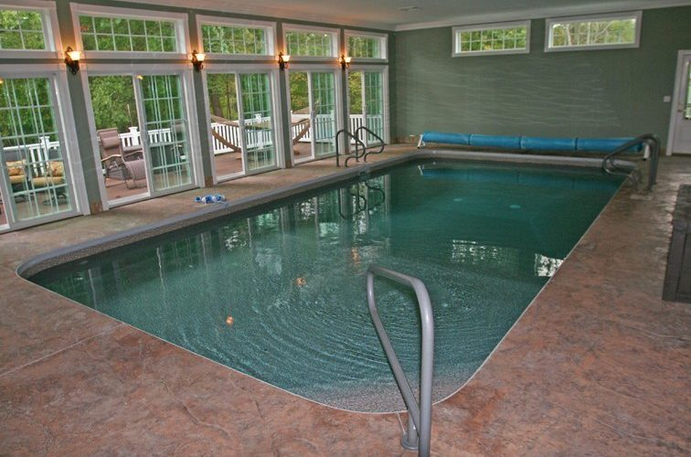26A Rectangle Inground Pool