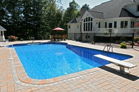 26C Custom Inground Inground Pool - Tolland, CT