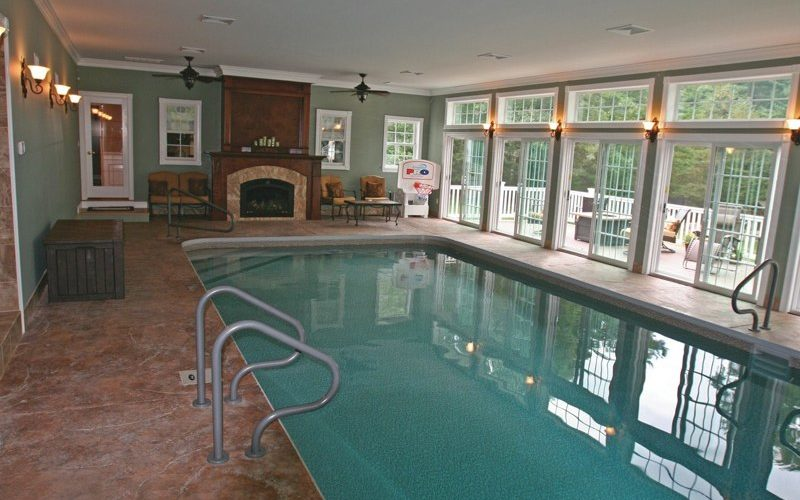 26C Rectangle Inground Pool