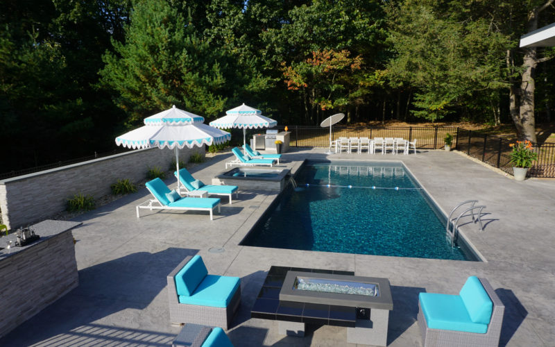 2A Rectangle Inground Pool - Avon, CT