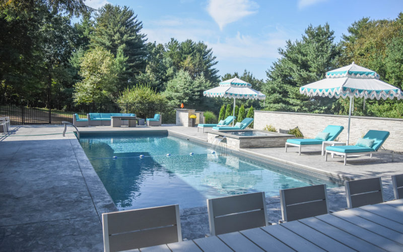 2B Rectangle Inground Pool - Avon, CT