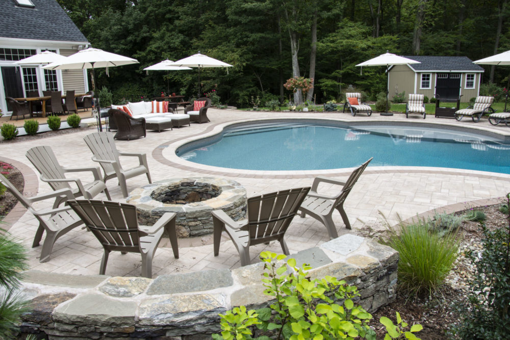 2C Custom Inground Pool - Tolland, CT