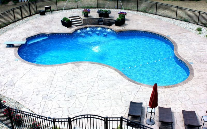 31A Custom Inground Inground Pool - Canton, CT