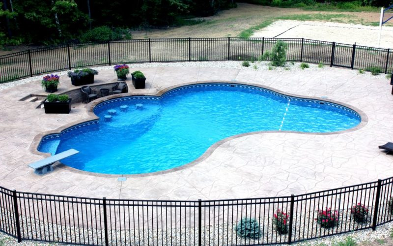 31B Custom Inground Inground Pool - Canton, CT