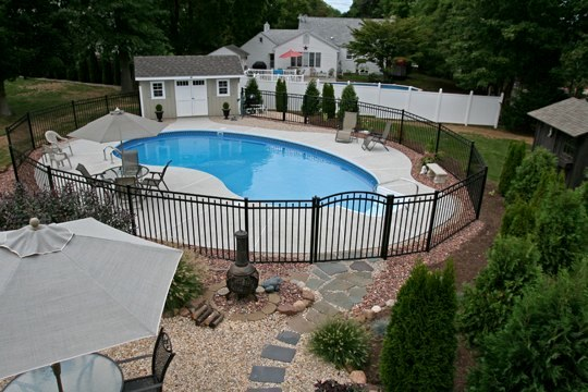 3A Kidney Inground Pool - Wethersfield, CT