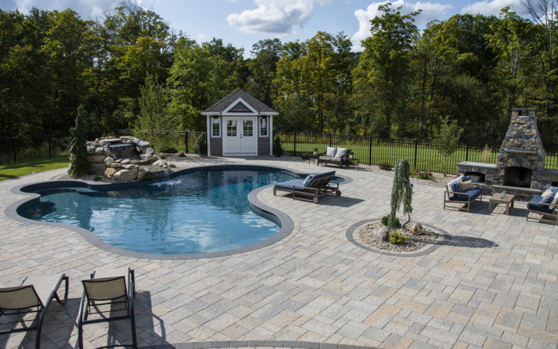 4A Custom Inground Pool - Rocky Hill, CT